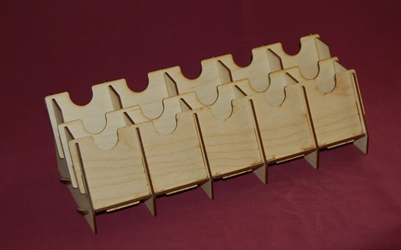 5 Deck Double Tray