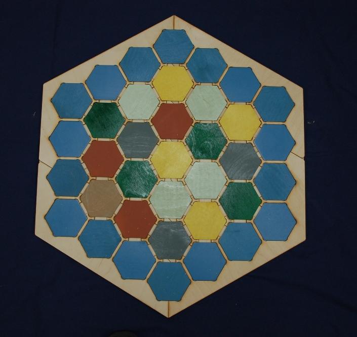 hexagon match three