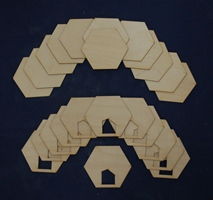 PD-11007 Hex Set with House Shaped Hole