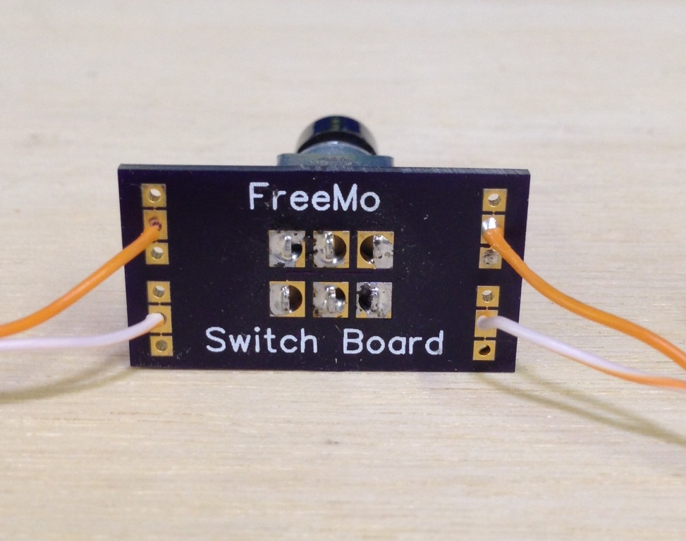 turnout switch control board after